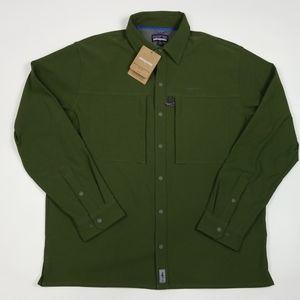 Patagonia Mens Long Sleeved Snap Dry Shirt